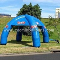 Best selling outdoor inflatable small advertising tent with good priceN5087