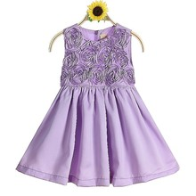 Wholesale Birthday Party Supplier Kids Princess Wedding Dresses