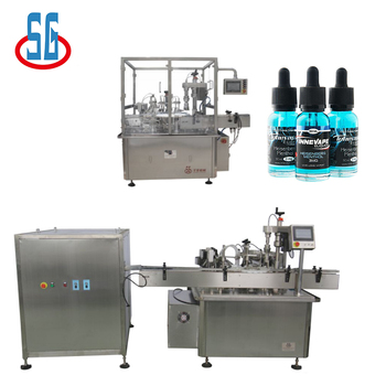 SGDYJ Automatic E-Liquid Cigarette Filling Machine