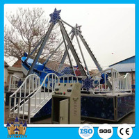 Henan cheap pirate ship playground equipment child games mini / small pirate ship for sale