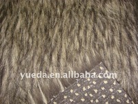 Jacquard Plush fabrics with tip-dyed