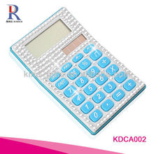 bling bling crystal jeweled funky office stationery calculator