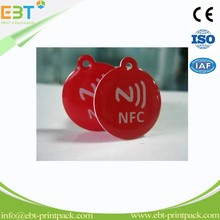 Competitive Price Free Samples Mobile Phones 13.56MHz Small NFC Tag Epoxy Rfid Tag