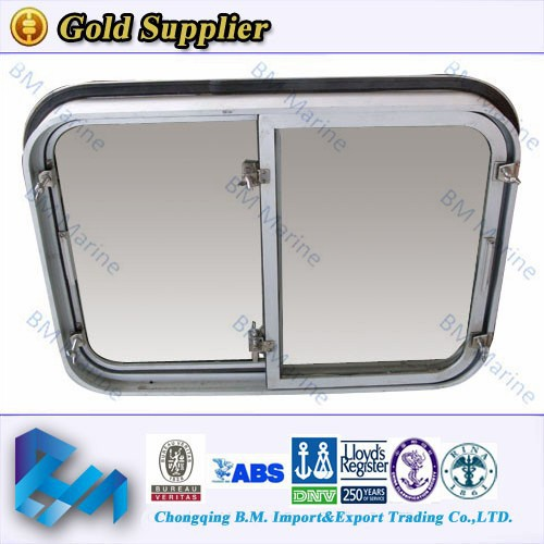 boat aluminium vertical sliding window small sliding window