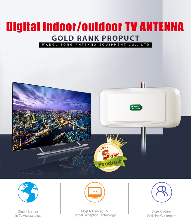 Leading the industry best indoor outdoor tv aerial antenna
