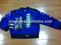 2013 Embroidery custom cheap motorbike jacket