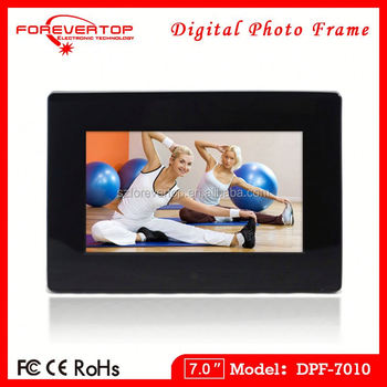 2016 factory low price 7 inch High Resolution Digital Frame