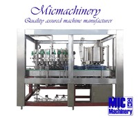MIC-32-8 Germany standard top quality professional factory plastic pop-top can soft drinks filling capping machine 3000-9000CPH