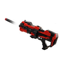 long distance range soft bullet firing gun toy with flashing light