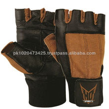 2014 fashion new design custom athletic works weight lifting gloves