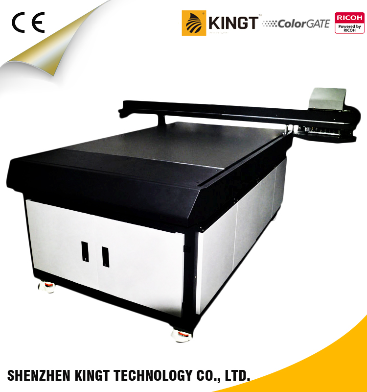 Kingt Cost effective Ricoh GH2220 led UV printer YG-1016C