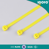 China wholesale colorful pvc zip uv ties , nylon cable ties plastic company buy from china