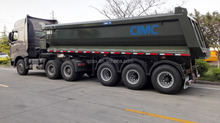 24CBM Tipping trailer with three axles