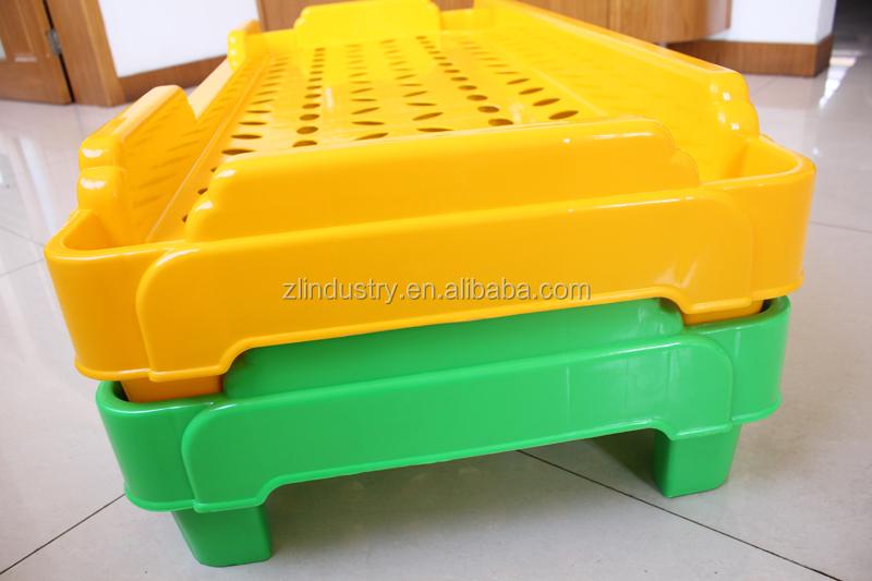 Preschool Sleeping Plastic Bedroom Furniture Part Kids Stackable Cot Buy Stackable Cot