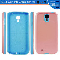 [GGIT] Wholesale Price Mobile Case For Samusng Galaxy S4 TPU + PC Case for S4