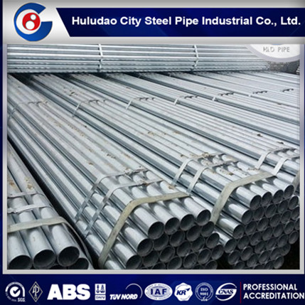 Hot selling!black powder coated galvanized steel pipe