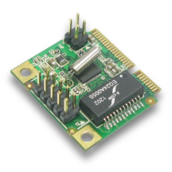 Half Size Mini PCI-Express Gigabit Ethernet Adapter