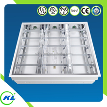 UL,cUL,RoHS led t8 ready troffer 2x2 2x4 office Grille Lamp