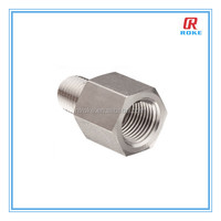 hexagon straight male and female thread pipe adapter