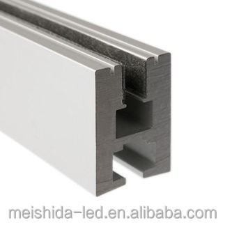 Glass Edge Surface Extrusion/aluminum profile for led strip light in glass
