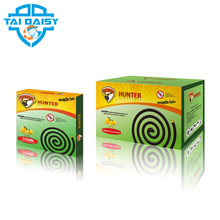 0.08% Meperfluthrin Cheap Price Plant Fiber Mosquito Coil Black Mosquito Coil