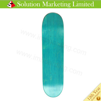 7 Ply 100% Canadian Maple Deck Maple Skateboard Deck