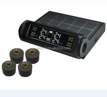 Car Solar TPMS,tire pressure monitor system, with 4 External Sensor
