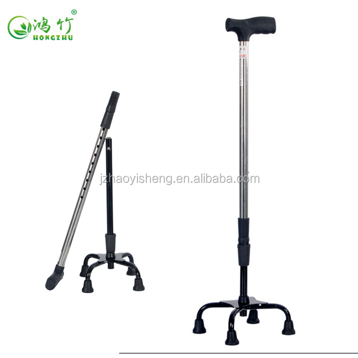 4 leg Adjustable free standing Walking sticks and Canes with 4legs