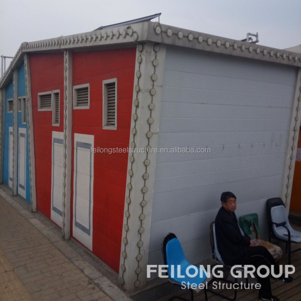 fast building and low cost shed house steel structure shed steel frame mobile home