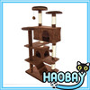 fleece-covered cat trees, fine pet products cat tree house