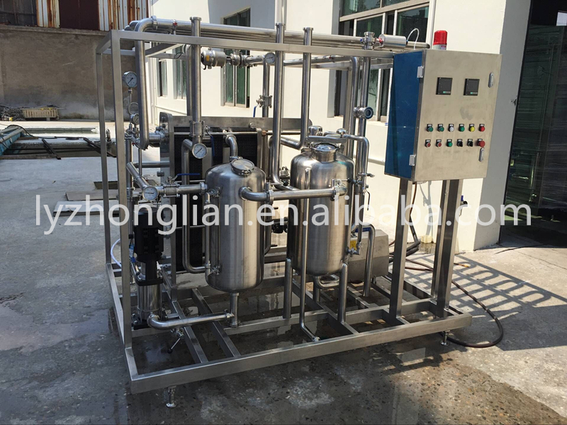 CP-1000 industrial milk plate continuous Pasteurizer sterilization machine