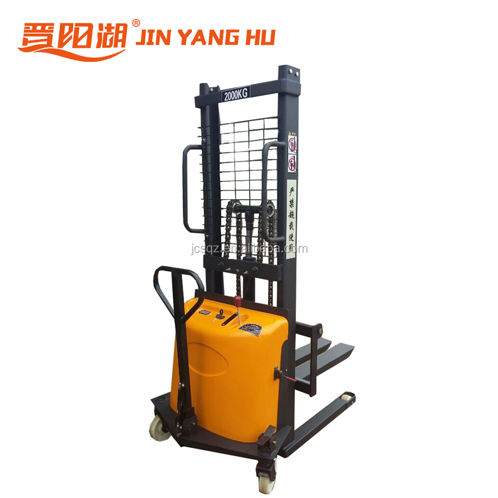 electric hydraulic platform pallet fork lift 1000kg