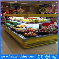 Supermarket Refrigerated Display Vegetable Chiller