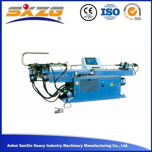 2015 single-head 50mm 2inch g i duct stainless steel pipe bending machine, iron steel pipe bending machine used