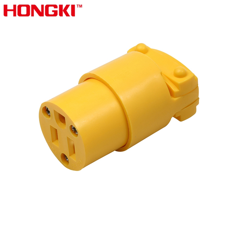 Cheap Price 3 Wire 125V Receptacle Straight Blade Female Grounding