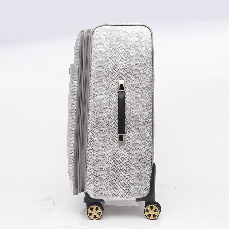 China Luggage Factory Supply high quality pu luggage sets 3 piece