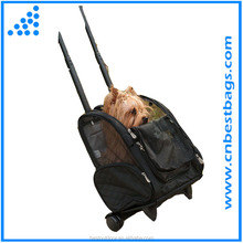 Legend custom pet trolley pet carrier bags with dog pictures