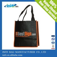 Promotional new product fashion personalised shopping bags as shopping bag