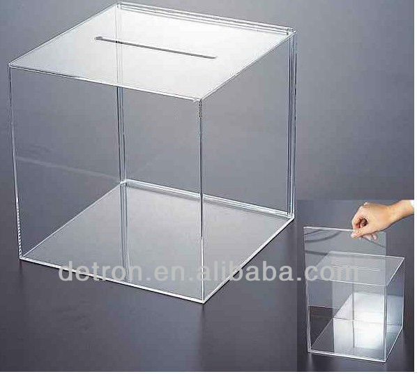 China Manufacture Wholesale Price Clear Acrylic Glass Women Nike/Addidas Shoes Boxes