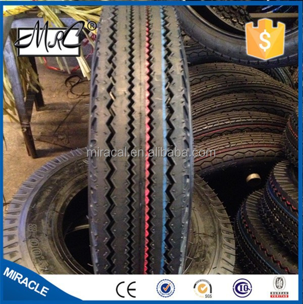 Absolutely Good Quality !!!!! Three Wheel 400-8 Tire