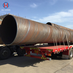 Large Diameter Spiral Steel Pipe On Sale With Best Price With Bare, Coating, Anti-corrosion, 3PE, PE/PP/EP/FBE Dealing
