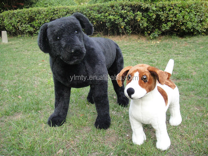 Top quality custom stuffed dog lifelike stuffed animal dogs