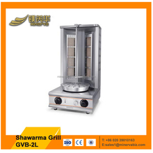 Commercial food equipment stainless steel gyro machine gas style doner kebab making machine shawarma machine grill for sale