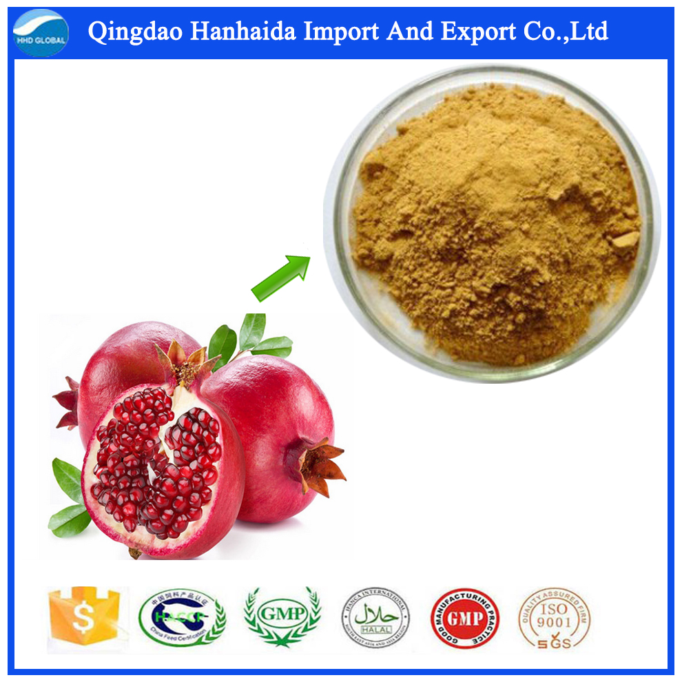 Pure natural plant extracts health-benefit pomegranate peel powder