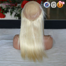 Unprocessed Female Human Blond #60 Malaysian Hair Womens Toupee