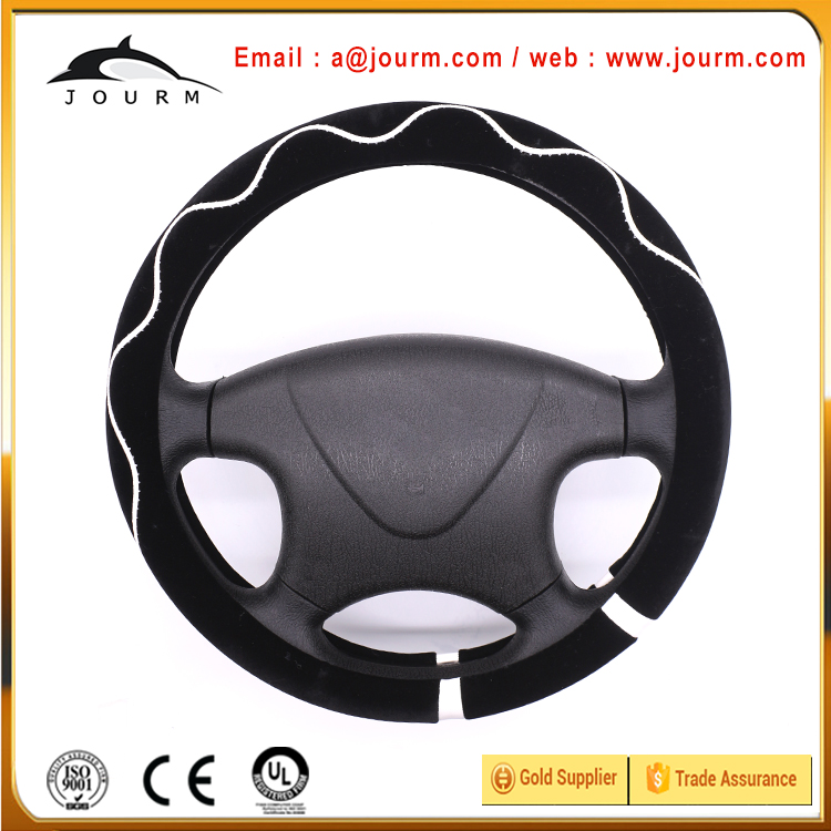 Good quality steering wheel covers car interior accessories for toyota land cruiser