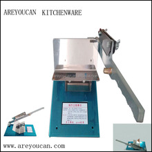 Metal handle to use Hand operated Mutton roll Frozen beef slicer/Manual meat cutting machine