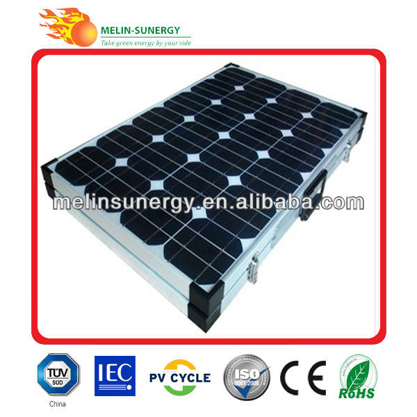 160W portable solar battery charger circuit
