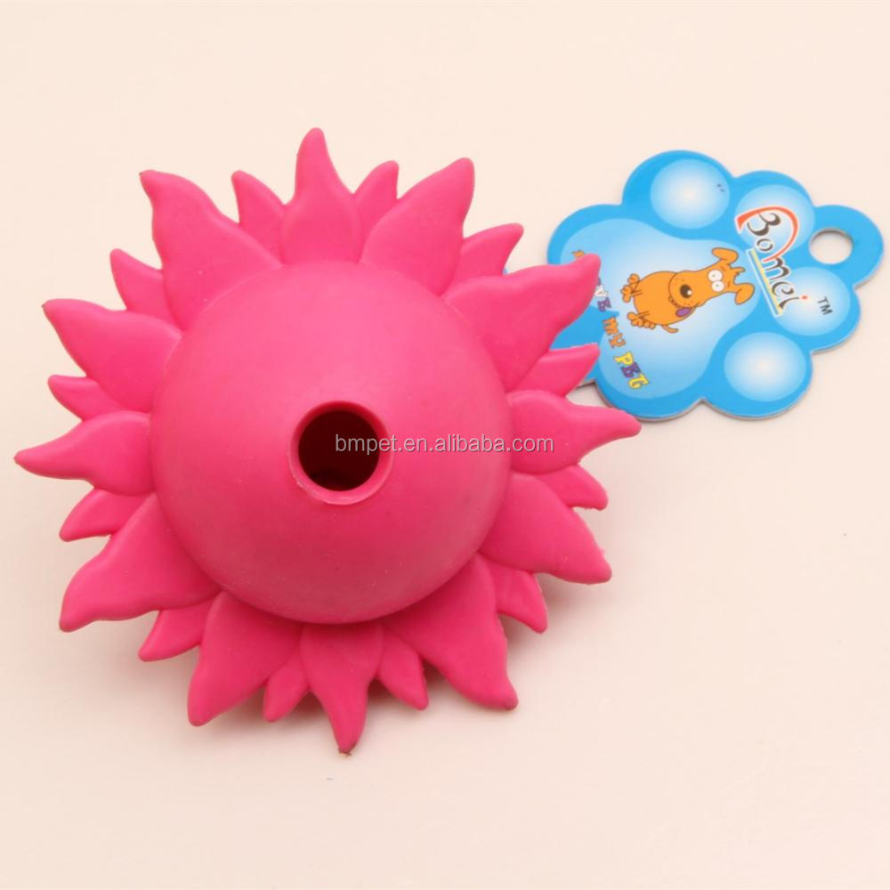 Sun Shape TPR Dog Toy Pet Dog Chewing Toy