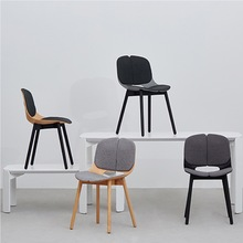 Spoon Chair Solid 3d wood grain plywood chair modern design chair by yonoh same quality as muuto hay